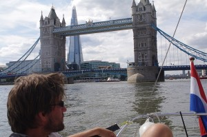 London met de boot