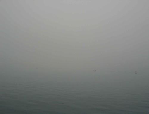 2014 Wordt zeilend afgesloten in dikke mist